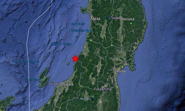 Powerful 6.4 earthquake strikes Japan triggering tsunami warning