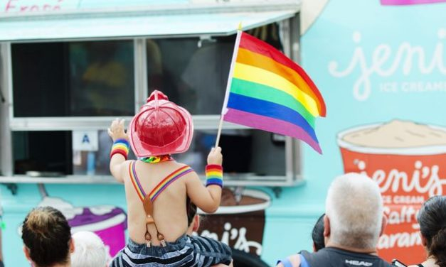 "LGBT ""Pride Parade"" advocates say ""Pride Parade"" is safest place for Children"