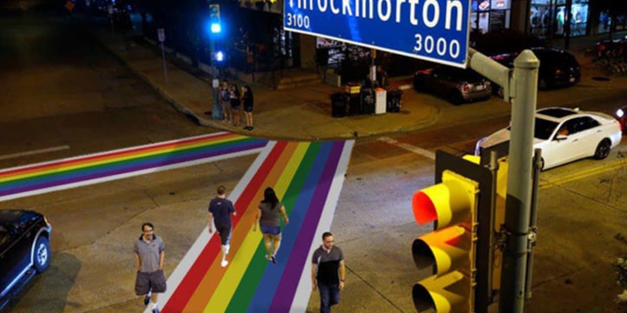 Dallas council approves rainbow crosswalks honoring LGBT in Oak Lawn
