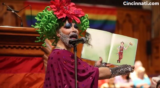 Presbyterian 'Church' Caretaker Dresses in Drag, Reads Story on 'Harvey Milk and the Rainbow Flag' During Service