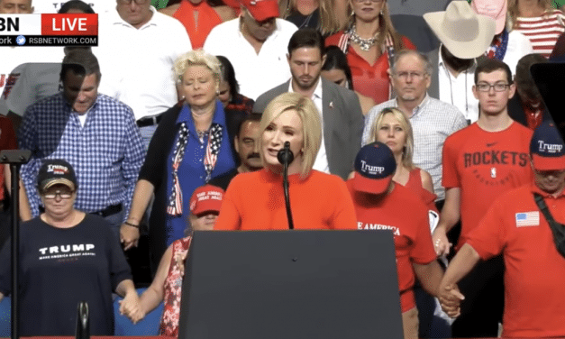 Paula White Cain Prophecies Trump's Horn of Power Will Be Exalted According to Psalm 89