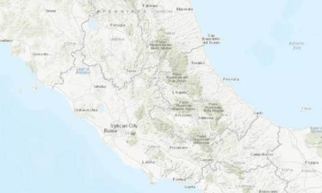 Moderate earthquake shakes up capital of Rome, 'felt in Croatia and San Marino'