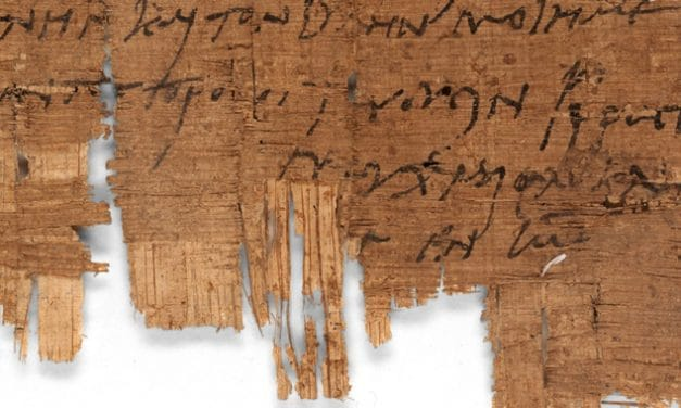 Oldest Christian letter outside of the Bible has just been discovered
