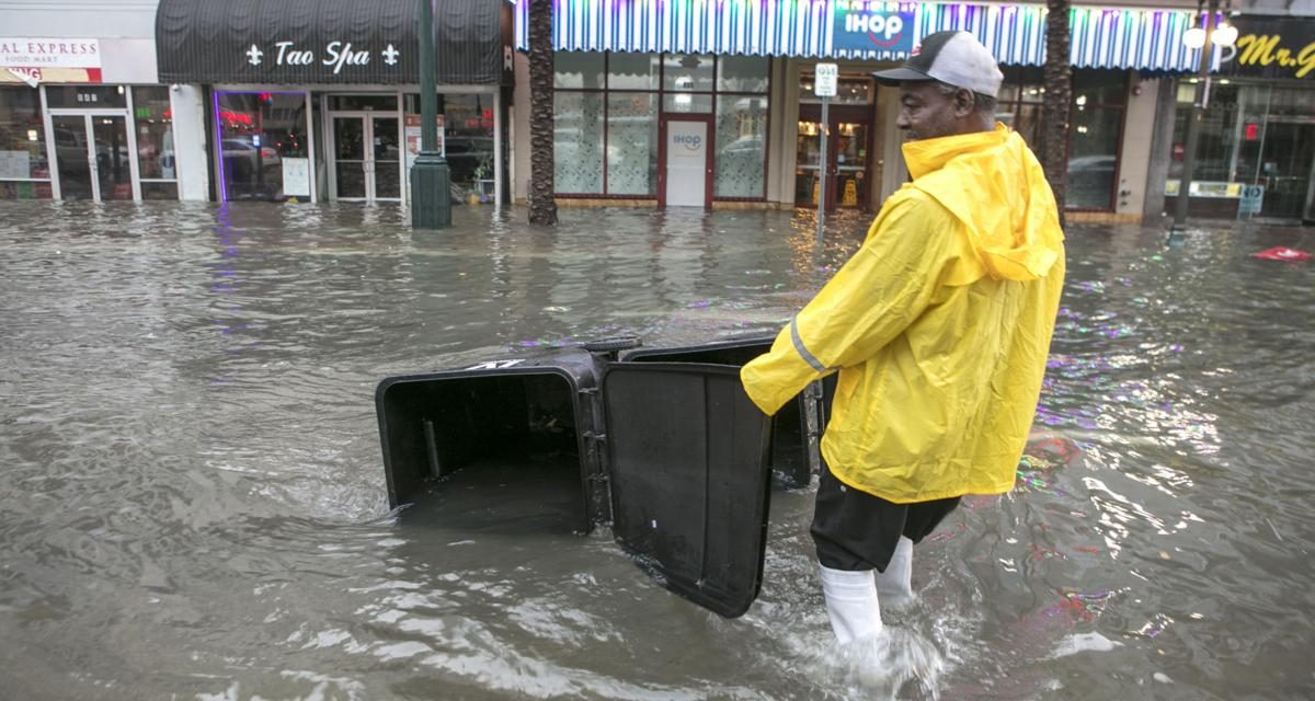 Floodwater in New Orleans like 'Toxic' Stew