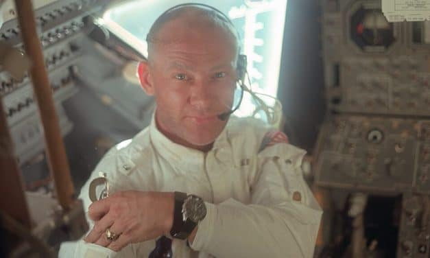 Buzz Aldrin took Holy Communion and read this Bible verse on Moon landing