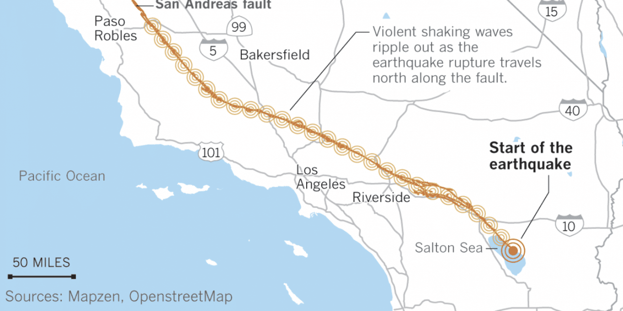 FLASHBACK: California could be hit by an 8.2 mega-earthquake, and it would be catastrophic