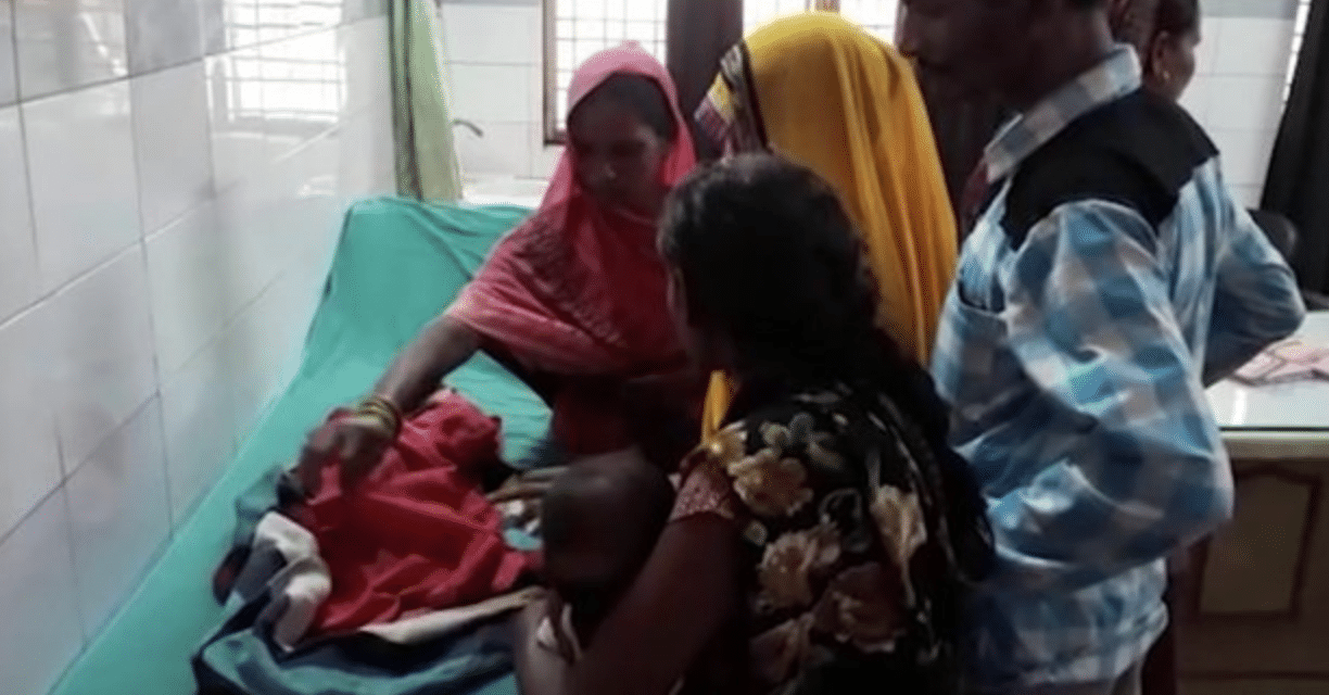 Woman gives birth to three-headed baby leaving doctors in shock