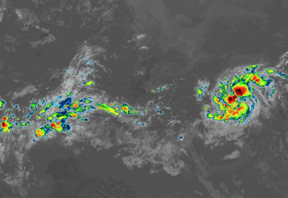 DEVELOPING: Hawaii could be impacted from newly formed Tropical Storm Erick