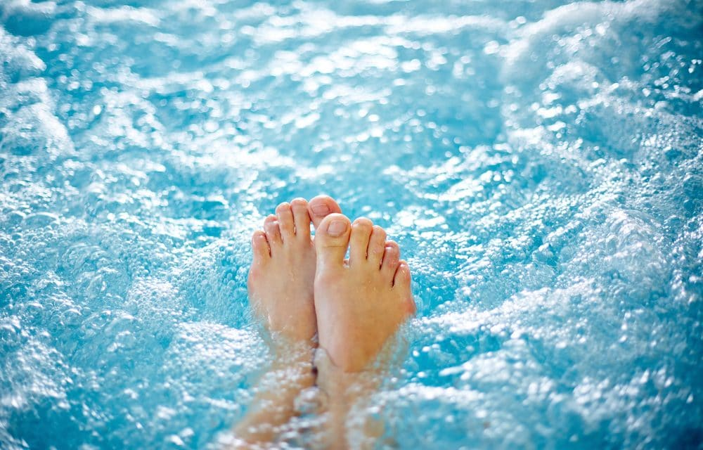 Woman nearly loses her arm after contracting deadly skin infection in hot tub