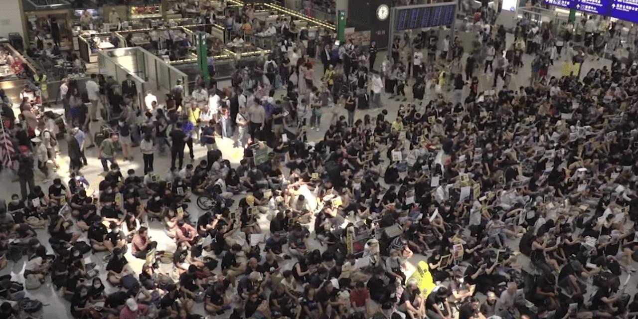 Hong Kong airport cancels all flights as protesters storm terminals…
