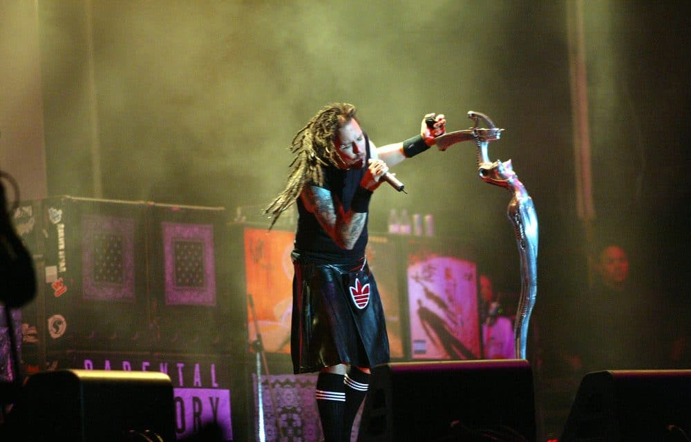 Korn frontman respects Brian 'Head' Welch's Christian faith, but warns 'don't throw your views on me'