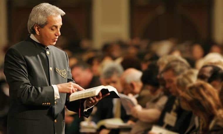 Bishop George Bloomer Warns That Benny Hinn must clarify tithing teachings or offer 'refund' to those he misled