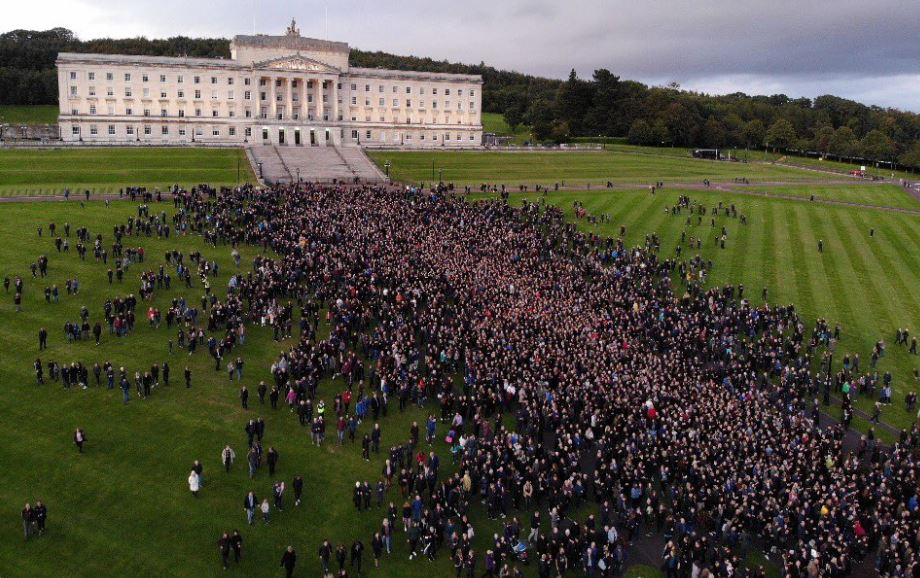 Massive Pro-Life March Erupts in Northern Ireland After Shocking Abortion Law Decision