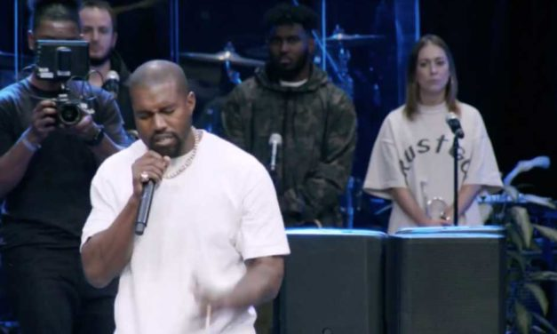 Kanye West Delivers Sermon to Packed Church in Atlanta