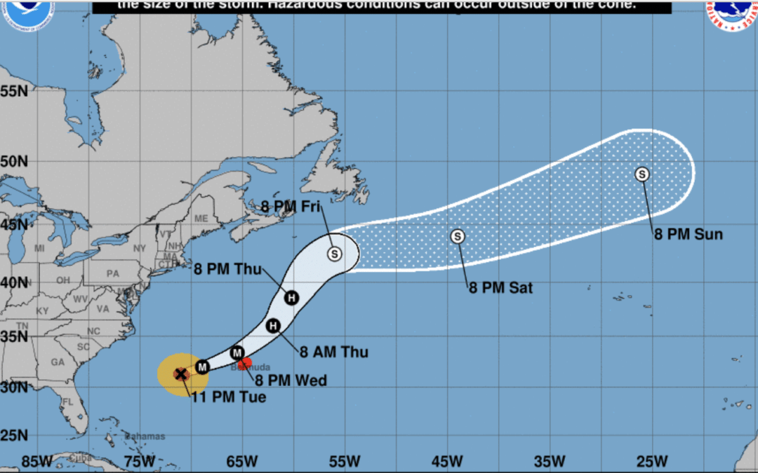 DEVELOPING: Hurricane Humberto now Category 3, Bermuda braces for storm conditions