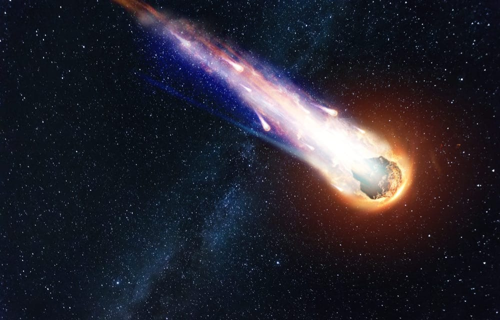 Astronomers monitoring interstellar comet hurtling through the solar system