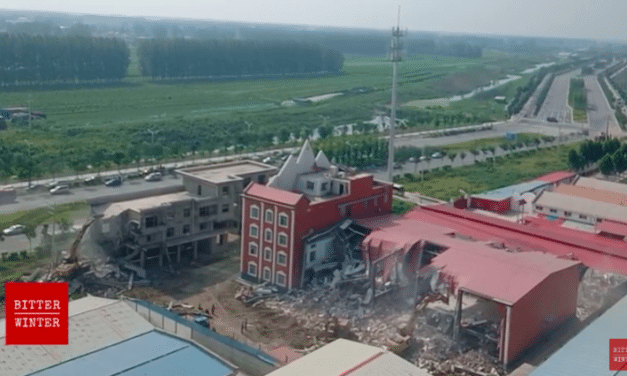 """Communist officials demolish church in China's Henan province for engaging in """"illegal fundraising"""""""