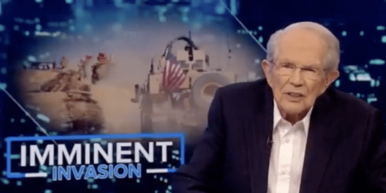 Pat Robertson rebukes Trump for pulling troops out of Syria