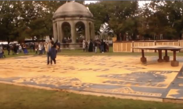 World's Largest Ouija Board Unveiled in Salem, Massachusetts