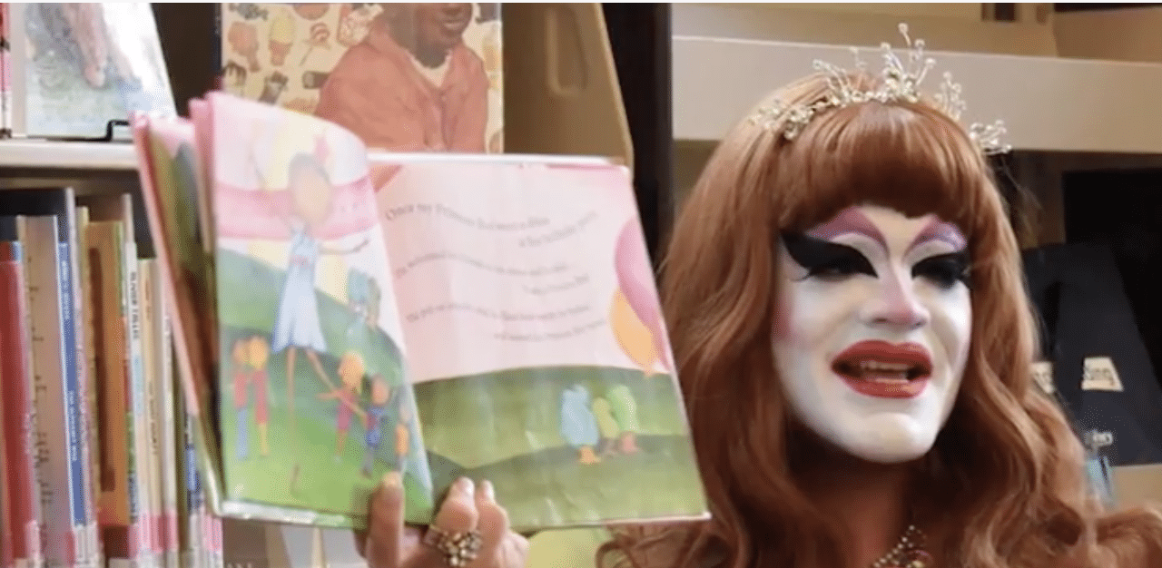 Library's 'Drag Queen Story Hour' Strip Show Goes Viral