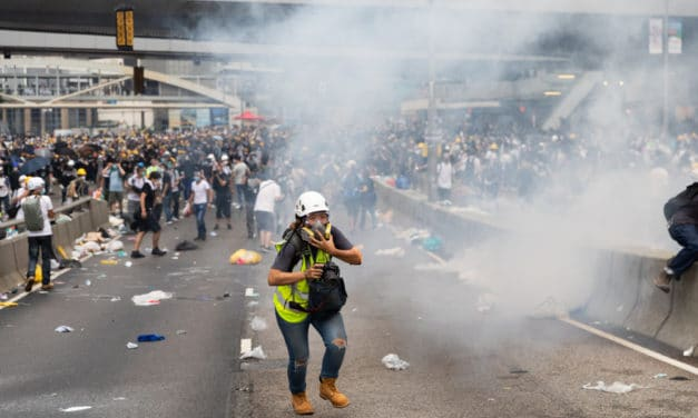 DISTRESS OF NATIONS: Violent clashes strike Chile, Hong Kong, Lebanon and Barcelona