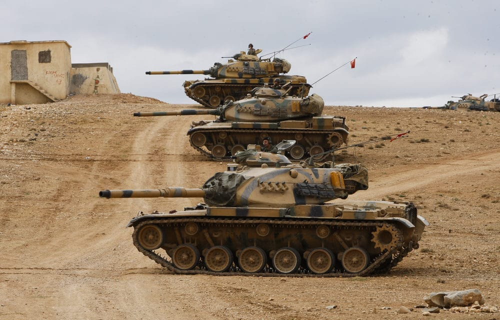 Turkey begins military offensive in Syria
