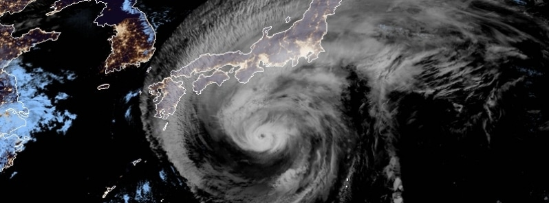 """Extremely dangerous Typhoon """"Hagibis"""" nears Tokyo, potentially the strongest to hit the city since 1958"""