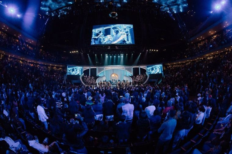 Over One million Viewed Kanye West's Sunday Service at Lakewood