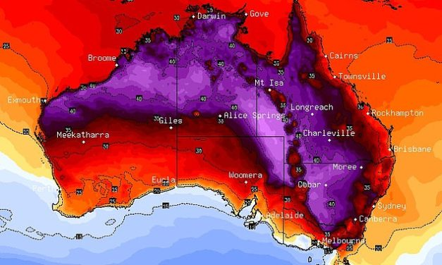"""Australia to be scorched by """"Once-In-A-Lifetime"""" Heatwave"""