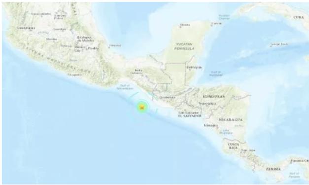 Powerful Magnitude 6.3 Earthquake Strikes Mexico