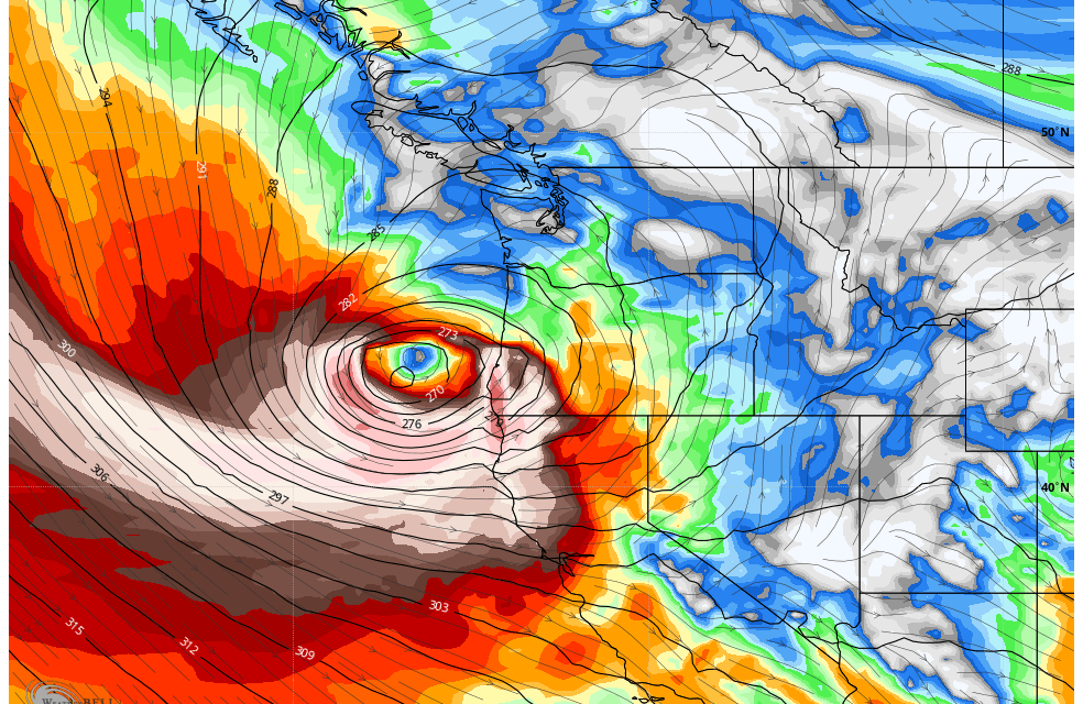Bomb cyclone shattered records on West Coast, 106-mph winds recorded