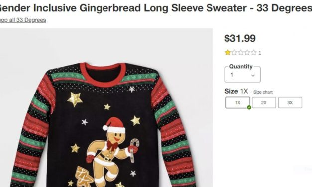 Target unveils 'Gender Inclusive Gingerbread' sweater for Christmas
