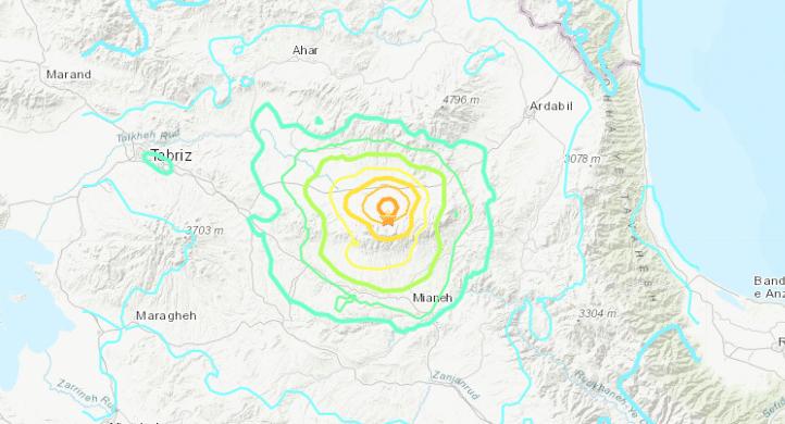 5 Dead, 300 Injured After 5.9 Magnitude Quake Rocks Iran