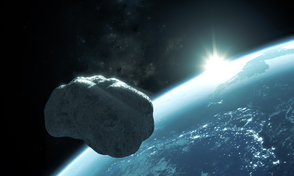 Asteroid flyby one of the closest near misses ever seen…