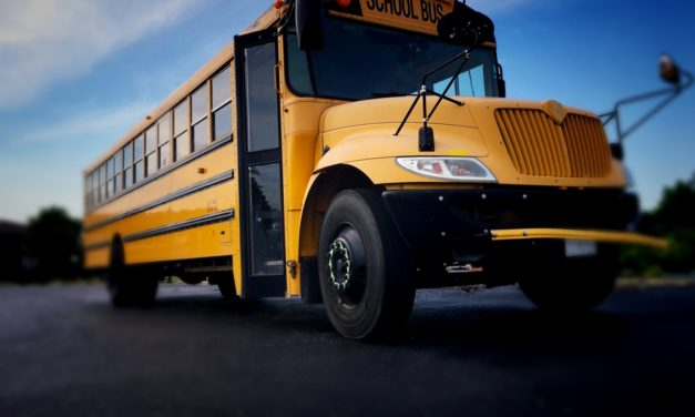 4 teens board school bus and attack elementary kids inside
