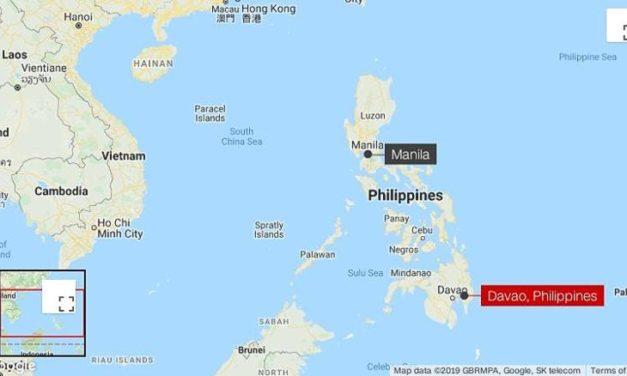 6.8-magnitude earthquake rocks southern Philippines