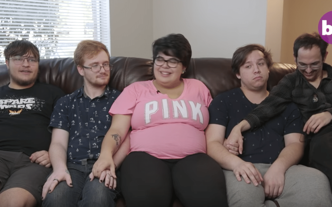 Media Glamorizes 'Polyamorous' Relationship of One Woman and Four Guys