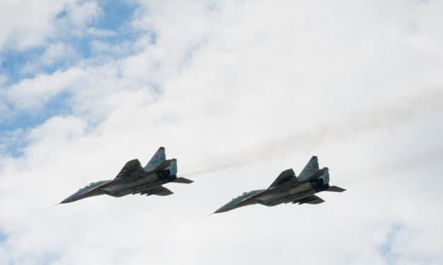 Russian Jets Scramble to Stop Israeli Strikes Against Iranian Installations in Syria