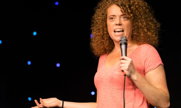 'I Am God!': Crowd Erupts as Comedian Michelle Wolf Mocks Her Aborted Child, Encourages People to 'Try It'