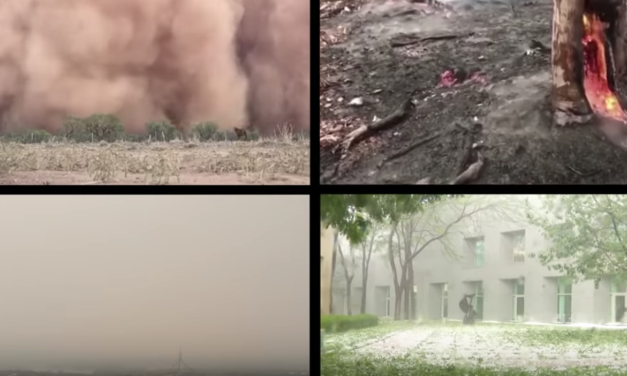 Australia Slammed With Hail, Pestilence, and Darkness Plagues in one Week