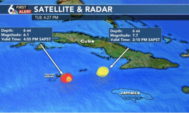 7.7 Earthquake was the largest earthquake EVER to strike Cuba and Jamaica