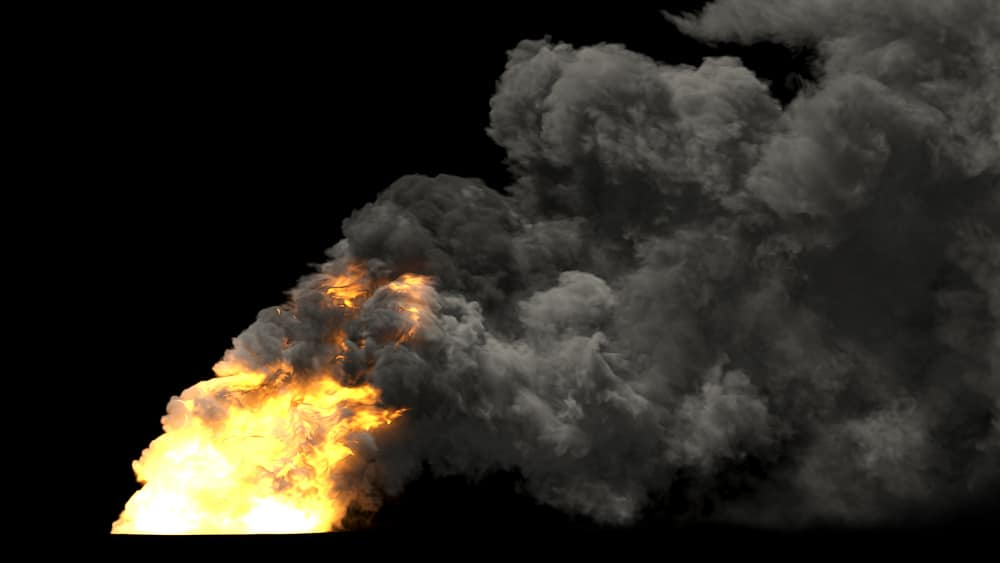 Chemical plant explosion produces massive fireball forcing 300,000 to stay indoors