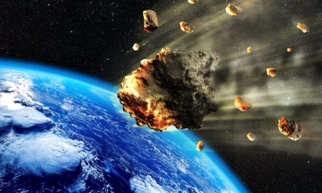 A swarm of asteroids will be barreling past Earth tomorrow