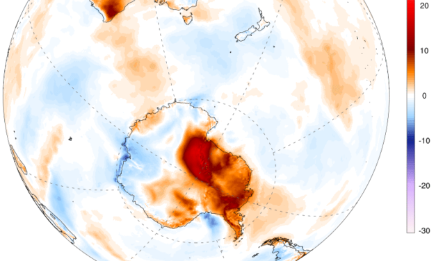 Antarctica just experienced its warmest temperature ever recorded