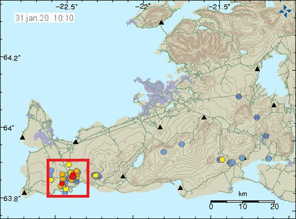 Volcano in Iceland showing signs of possible eruption