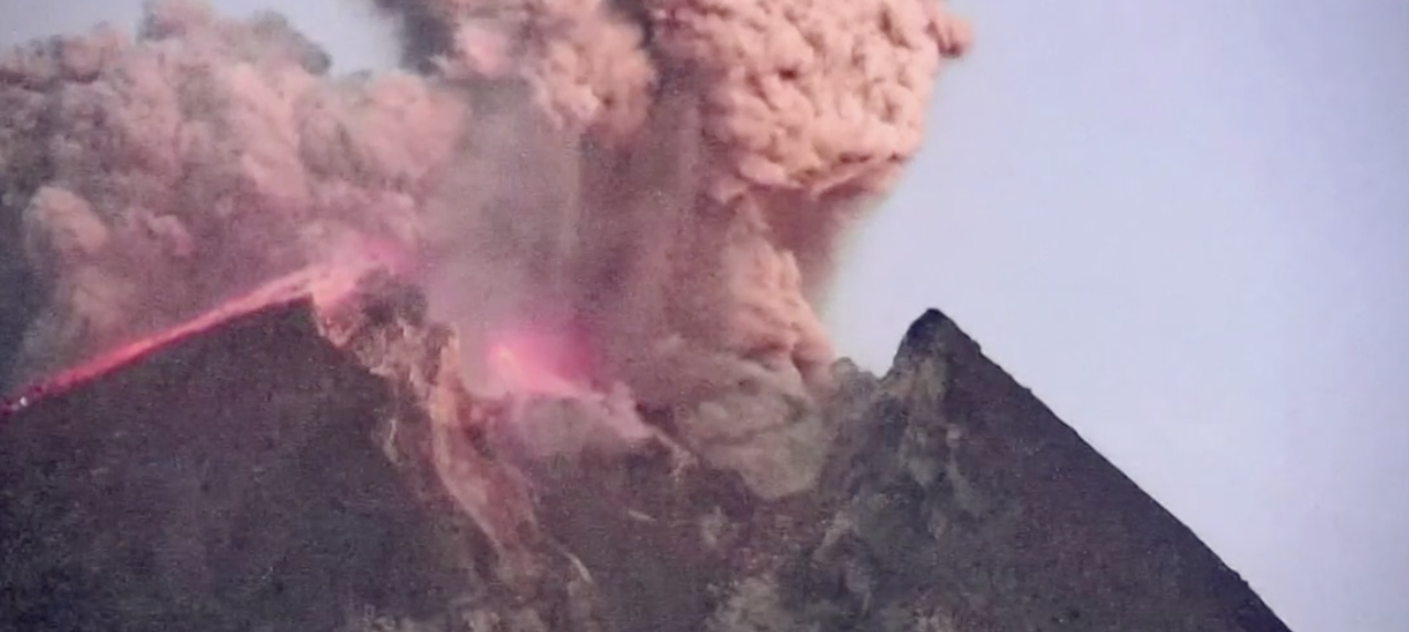 Volcano in Indonesia experiences most powerful eruption in 90 years