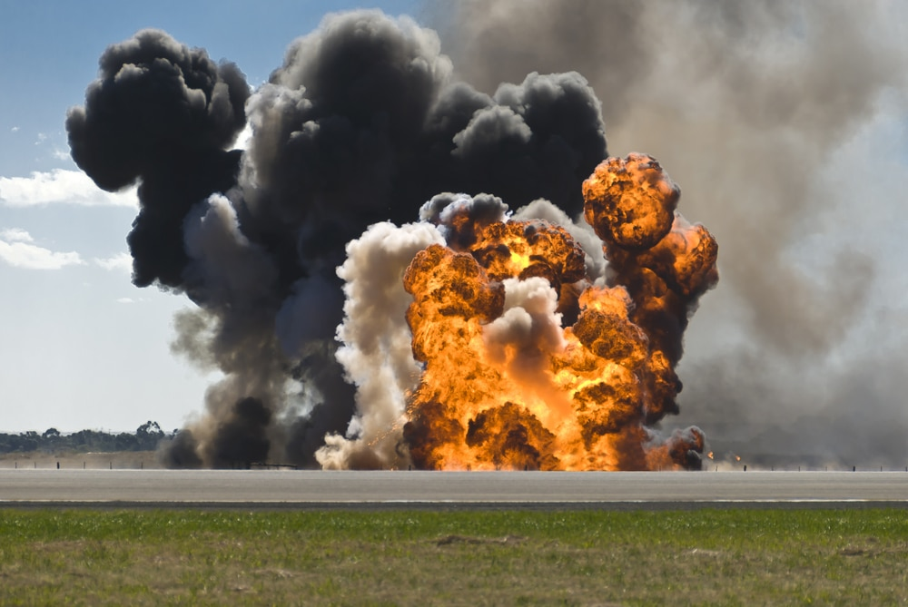 A Russian aircraft has just been shot down by Turkey, Military offensive underway