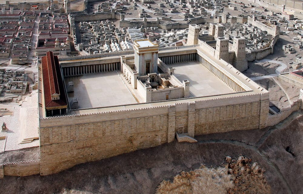 Construction of Third Temple in Jerusalem to Usher in End of Days