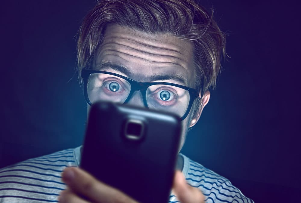 Smartphone addiction literally changes our brain