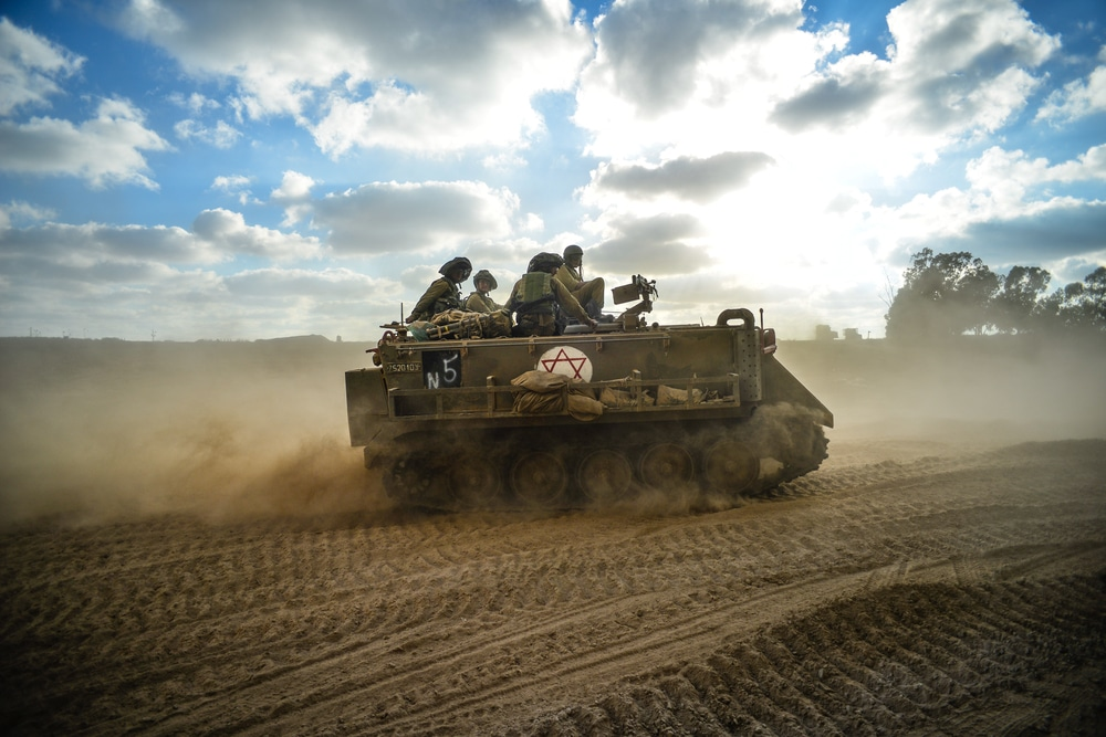 Israeli military closes roads, train line near Gaza amid fears of greater conflict